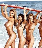Surfin' girls