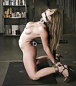 Bent back