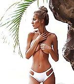 Sickly bikini bottom