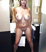 Big tits at hand